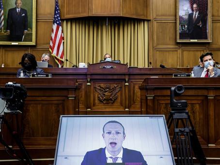 Главы IT-корпораций приняли участие в онлайн-слушаниях Сената по модерированию контента и цензуре