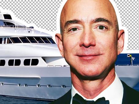 Основатель Amazon заказал 127-метровую яхту. Она обойдётся ему дороже, чем покупка Washington Post