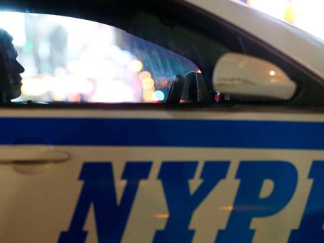 Полицейский Нью-Йорка будет наказан за поддержку президента