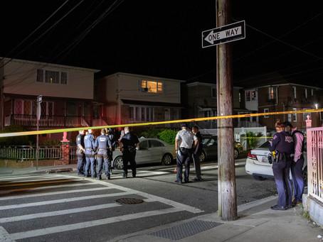 За прошедшие выходные в Нью-Йорке во время перестрелок были ранены около трёх десятков людей