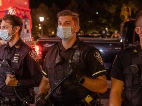 День выборов: полиция Нью-Йорка готова ко всему