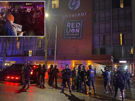 Вооружённые бездомные захватили отель в штате Вашингтон с требованием бесплатного жилья