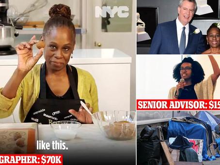 Мэр Нью-Йорка объяснил, зачем его жене персонал из 14 сотрудников с зарплатным фондом в $ 2 миллиона