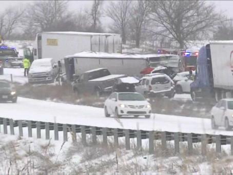 Зимний шторм унёс жизни 10 человек