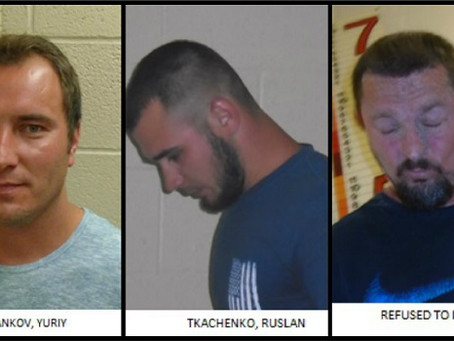 7 русскоязычных мужчин были арестованы за беспорядки и расовые оскорбления в Орегоне
