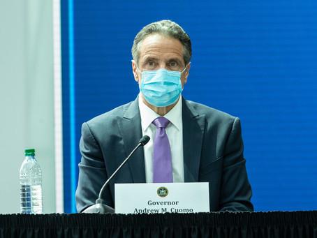 Куомо: Нью-Йорк не готов отказаться от ношения масок