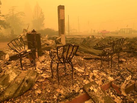"""""""Самые большие потери человеческих жизней и имущества из-за пожаров в истории штата"""""""
