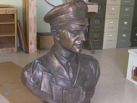 Во Флориде открылся памятник Герою Советского Союза, лётчику Марселю Альберу