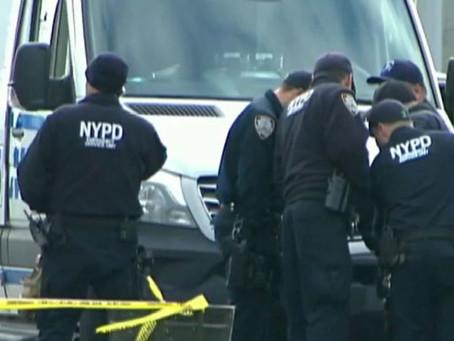 В течение суток в Нью-Йорке ранены двое полицейских