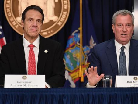Первые лица Нью-Йорка могут объявить повторный локдаун уже к 1 декабря