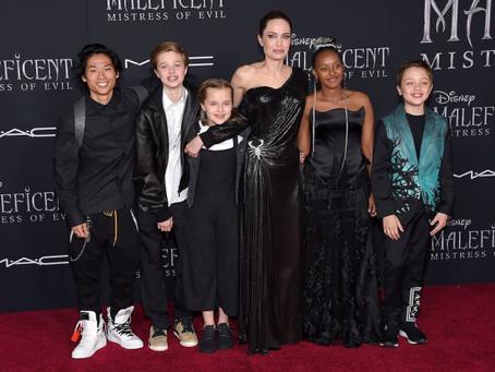 Анджелина Джоли проиграла дело об опеке над общими детьми с Брэдом Питтом