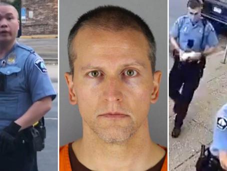 Все четверо полицейских из Миннесоты предстанут перед судом