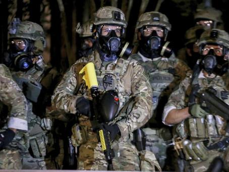 Федеральные службы начали аресты протестующих в Орегоне