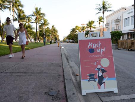 Стриптизёры освободили Майами от четырёхмесячного комендантского часа