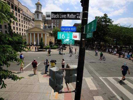 В каждом районе Нью-Йорка появится улица «Black Lives Matter»
