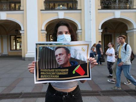 Белый дом предупредил об изменении отношений с Кремлем из-за Навального