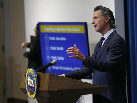 Как пандемия помогла «приподняться» предприятиям губернатора Калифорнии?