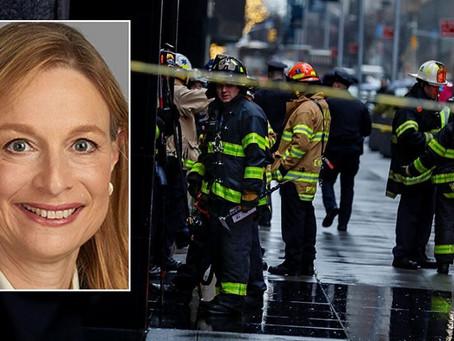 Нью-йоркский архитектор была убита осколком фасада