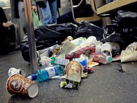 В метро Нью-Йорка наблюдается тревожный рост антисанитарии. Какие линии самые грязные?