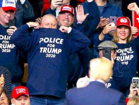 Крупнейший полицейский профсоюз США поддержит Трампа на ноябрьских выборах