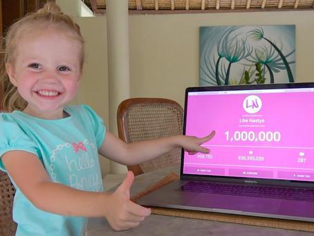 5-летняя жительница Майами вошла в топ-з самых высокооплачиваемых YouTube-блогеров мира