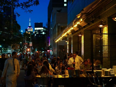 Комендантский час для баров, ресторанов и частных мероприятий в Нью-Йорке отменяется