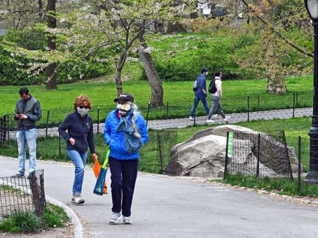 В Нью-Йорк возвращаются штрафы за отказ носить маску