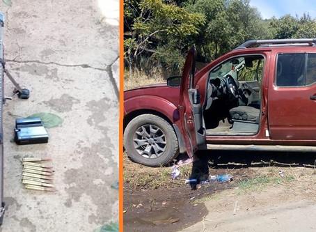 4 detenidos y un rifle Barret calibre .50mm incautado en Uruapan Mich.