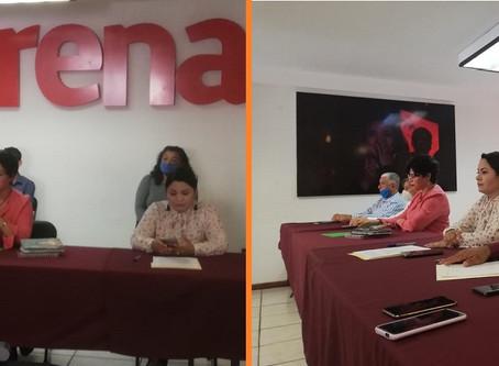 Nuevo Consejo Estatal de Morena en Michoacán en conferencia: Salud, educación y federalismo