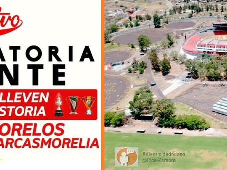 CONVOCAN URGENTEMENTE AFICIÓN DE MONARCAS EN EL MORELOS A EVITAR QUE SE LLEVEN SU HISTORIA.
