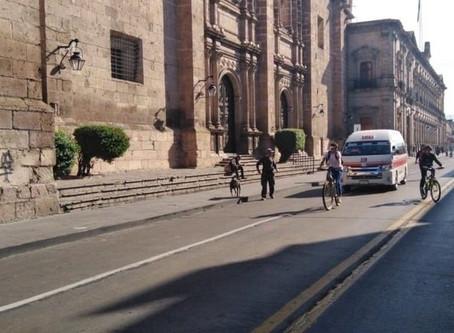 """""""Si a la ciclovía en Morelia"""" #sialacicloviamorelia -Petición de morelianos."""