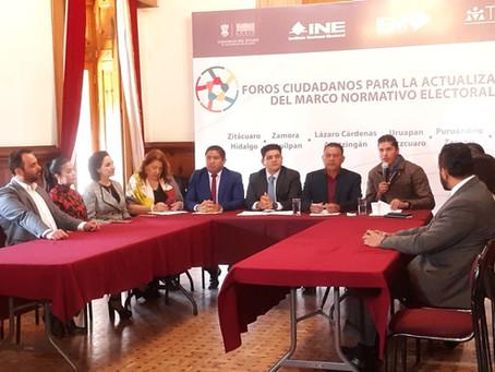ARRANCAN LOS FOROS CIUDADANOS PARA LA ACTUALIZACIÓN DEL MARCO ELECTORAL.