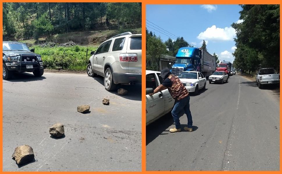 Este lunes habitantes de Uruapan bloquearon carreteras para demandar obra pública (+Fotos)