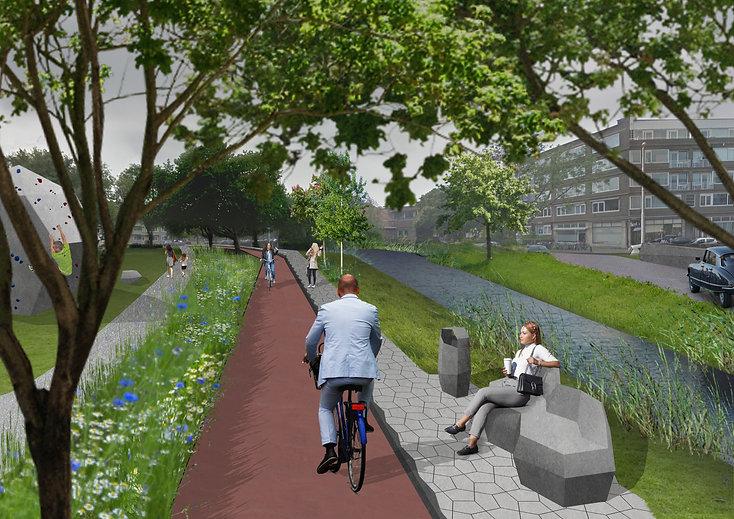 Alternatieve fietsroutes Rotterdam