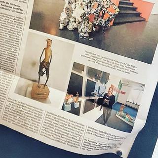 """""""Süddeutsche Zeitung"""", Artikel von Katja Sebald,Oktober 2019"""