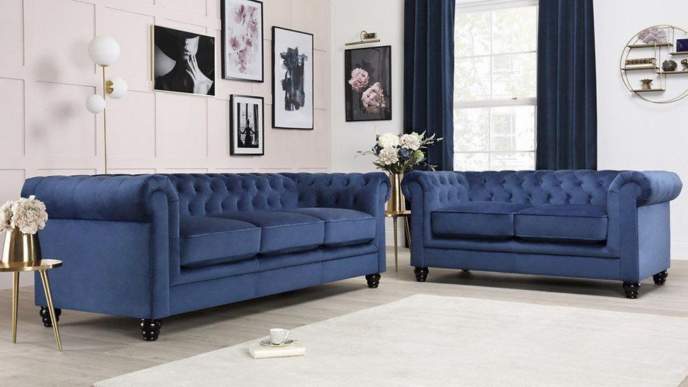 CHESTER-FIELD SOFA (2+3 Seater Sofa)