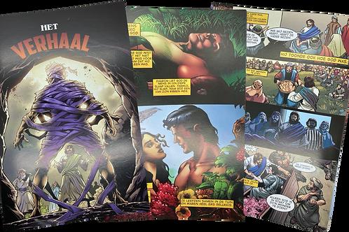 5 stuks - Het Verhaal - Comic Strip