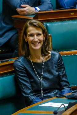 Sophie Wilmès - ministre du Budget