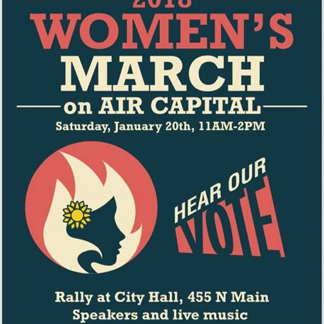 Women's March on the Air Capital: March to the Polls