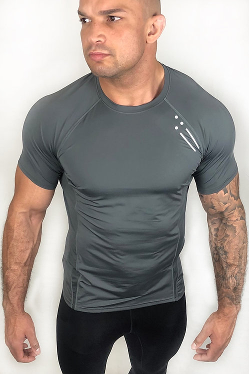 Athlete Performance Stone Grey T