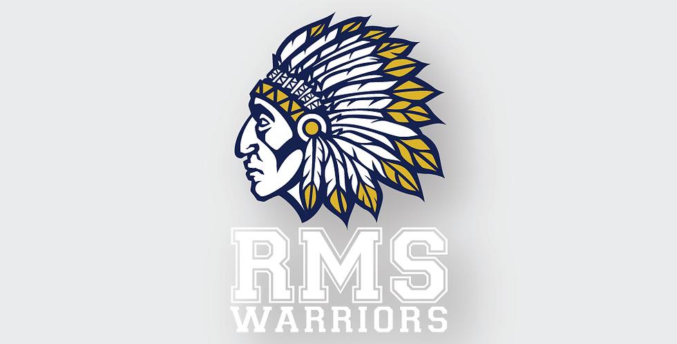 RMS Warriors Clear Sticker