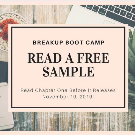 Sneak Peek at Breakup Boot Camp Chapter One