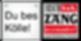 "Logo ""Du bes Kölle"" – ""Arsch huh, Zäng ussenander"""