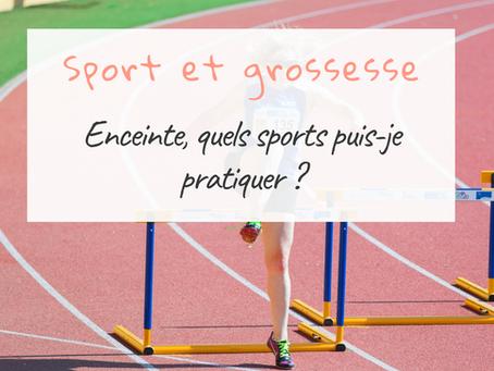 Quels sports puis-je pratiquer quand je suis enceinte ?