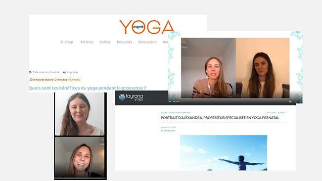 articles yoga prenatal