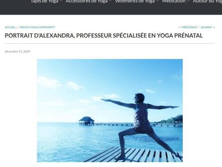 Mon parcours et mes conseils de yoga prénatal