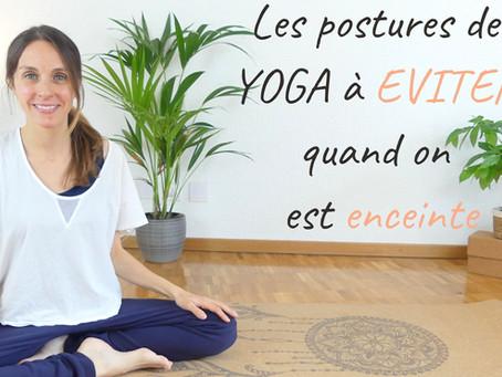 Les postures de yoga à éviter pendant la grossesse