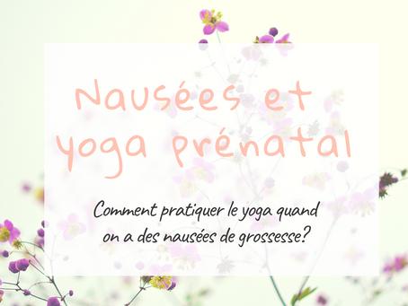 Nausées de grossesse et yoga prénatal