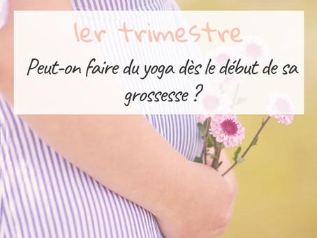 Peut-on faire du yoga prénatal durant le premier trimestre de grossesse?