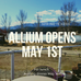 Allium's Opening soon